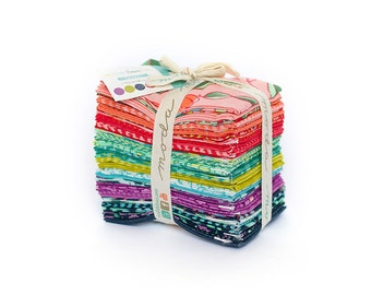 Tucker Prairie Fabric // Fat 8th Bundle // 1canoe2 // cotton quilting