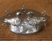 Antique Chocolate Mold of Birds