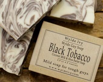 Black Tobacco Handmade Men's Soap