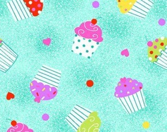 NEW - One yard - Cupcake Flannel - 0505-11