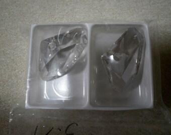 Swarovski Crystal Galactic Pendant Silvershade