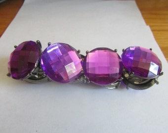 purple panel bracelet
