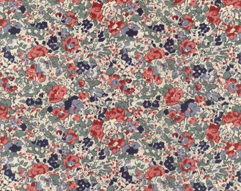 Liberty of London tana lawn fabric Claire Aude 6x19