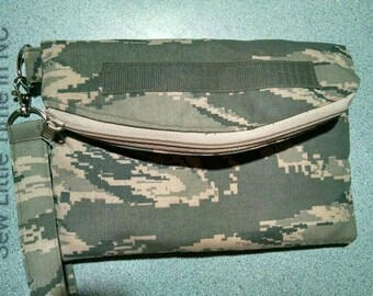 SALE: Use 15Off To get 15% off, U S Air Force Small Fold Over Wristlet
