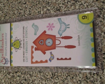 Spellbinders, Shapeabilities Cuckoo Clock Template