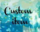 Custom item for Mary