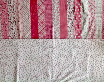 Love and Harmony by Marcus Brothers - 3 Yards Breast Cancer Fabric Destash