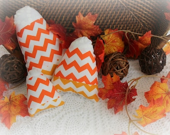 Candy Corn - SALE - Decorative Basket Filler Pillow