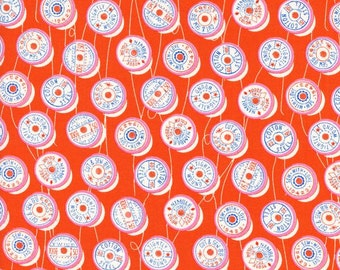 Spools Orange Red - Trinket - Melody Miller - Cotton + Steel - 0036-02