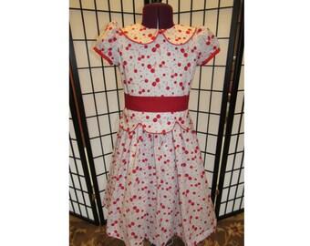 1940's Emily Bennett Style Girls Dress Size 8