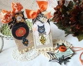 Special Potion Shabby  Chic Handmade Tag Set