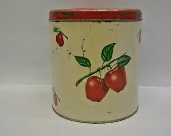 Sweet apple tin