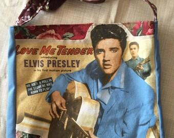 Elvis love me tender tshirt bag