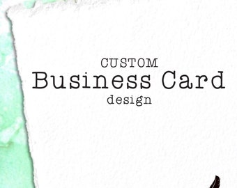 Custom Business Cards or Mommy Cards