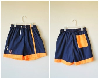 ON SALE Deadstock, 1980s Aqua Sport Shorts >>> Men's Extra Small to Small >>> Boy's Size Large to Extra Large