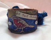 Etched metal be the change cuff