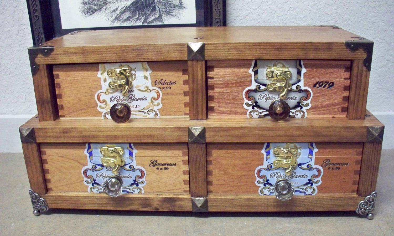 Man Cave Box : Free shipping cigar box cabinet man cave trinket