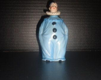 Pierrot Blue Scent Perfume  Bottle  German  Early 1900s