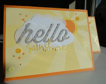 Hello Sunshine Two Pack of Cards