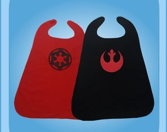 Star Wars Rebel Alliance and Imperial Forces Reversible Superhero Cape Costume
