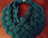 New crocheted braided cowl. Trending now! Any color