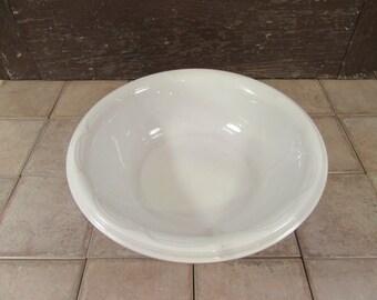 Beautiful old white ironstone wash bowl basin- Anthony Shaw, England