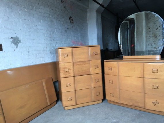 items similar to sold heywood wakefield rio bedroom set mid century