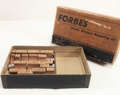 Vintage Stamp Kit Vintage Forbes Handy Accident Reporting Kit Forbes Stamp Kit