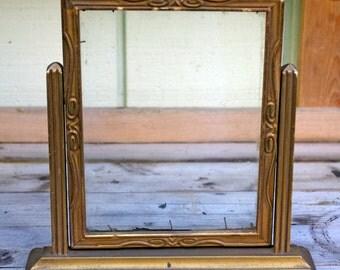 Vintage Art Deco Swing Frame, Tilt Frame,  Tabletop