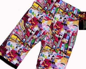 Harajuku Clothing - Japanese Clothing - Tokyo - New York - Japanese Baby - Pink Pants - Girl Pants - Baby Pants - 18m - On SALE
