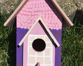 Pretty in Pink Birdhouse