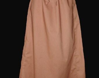 Women's Flared Full Length Skirt