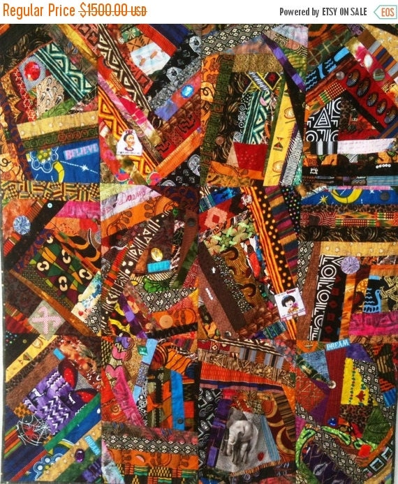 Festival Sale Dream Like Crazy art quilt
