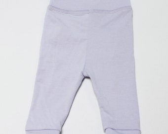 Lilac Bamboo Sprout Pants Baby Leggings
