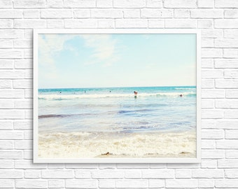 BUY 2 GET 1 FREE California Wall Art, Venice Beach, Beach Photo, Sand, Ocean, California Summer, Wall Decor, California Decor - Venice Surf