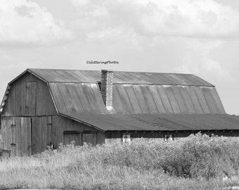 Weathered, Barn, Stilesville, Indiana, Hendricks County, Fine Art, Photography, Print, Glossy, 8 x 10, No 5