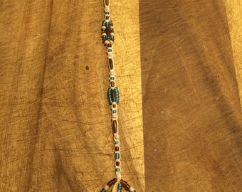 Native American hair clip