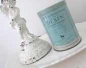 Vintage Tin * Dexin * c1940s * Jadeite Green