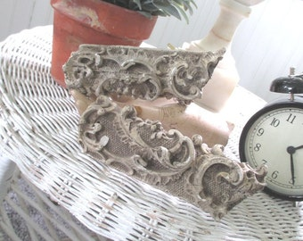 Vintage Architectural Salvage Fragments * Shabby French Chic * Paris Apt.
