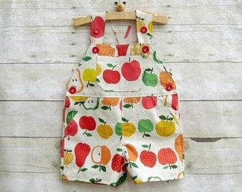 Shortall in Linen Summer Fruits