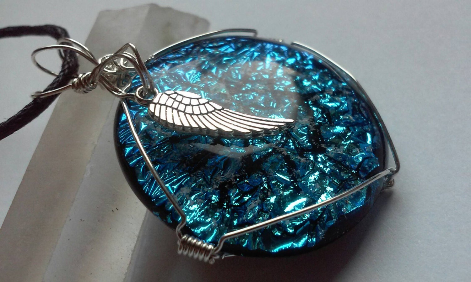 jewelry made from ashes cremation jewelry wing necklace ashes by infusionglass 3661