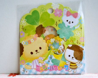 CRUX Sticker Flakes - Clover Puppy Dogs - 42 Pieces (05351)