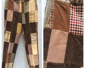 Groovy Men's 1970's Patchwork Pants!