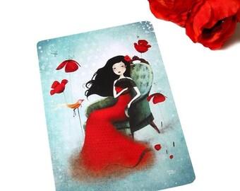 30% Off Halloween Sale - Flamenco Dream - Postcard