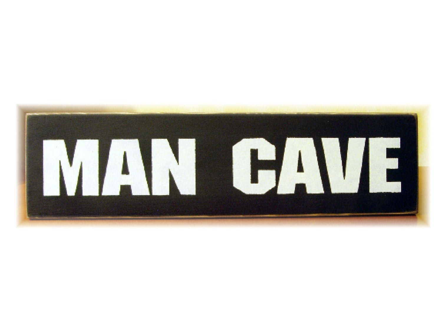 Man Cave Signs To Buy : Man cave primitive wood sign