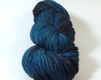 BIG SUMMER SALE Jest 2ply Merino/Nylon Sock - You Can't Distract Death with Fried Pickle Chips