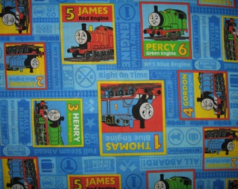Train print fabric etsy for Train print fabric