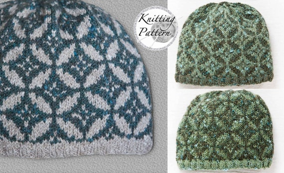 Knitting Pattern for Boy's and Men's Hat - The Orchard