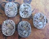 Featured - Steampunk supplies - Watch movements - Vintage Antique Watch movements Steampunk - Scrapbooking k21