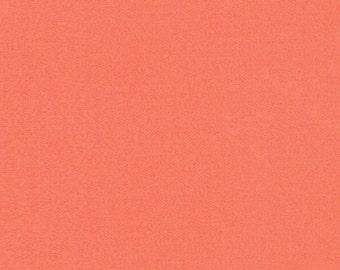 Liberty Tana Lawn Fabric Plain Mandarin Orange B - Fat Quarter-* PRE-ORDER *